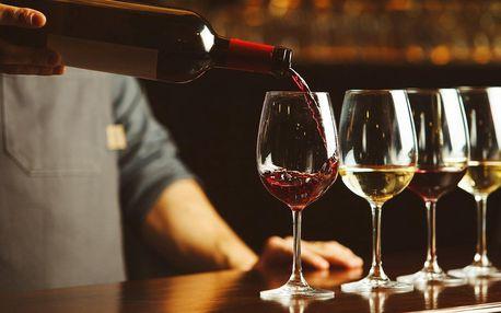 Degustace italských vín a tapas pro 1 nebo 2 osoby