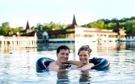 Maďarsko, Hevíz v Hotelu Panorama*** s polopenzí