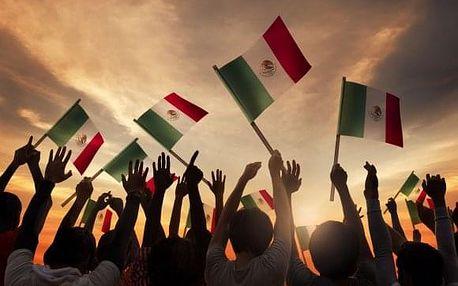 Směs balíčků kvalitního koření z Mexického venkova
