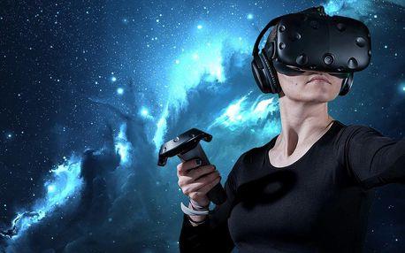 60 či 120 minut ve virtuální realitě až pro 4 osoby v Sokolově