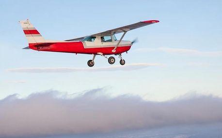 Vyhlídkový let letadlem kolem Sněžky