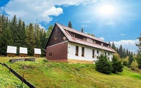 Příjemné ubytování v horské chatě na překrásné Šumavě pro 2 osoby
