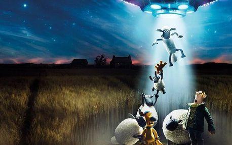 2 vstupenky na rodinný film Ovečka Shaun