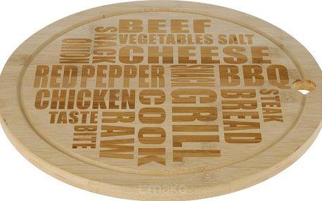 EH Excellent Houseware Bambusová deska na sýry a lehké občerstvení