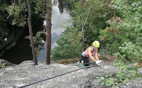 Via Ferrata: lezení s instruktorem po zajištěných cestách u Semil pro 1-3 osoby