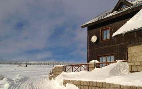 Odpočinkový pobyt v chatě nedaleko Sněžky pro 2 osoby s polopenzí