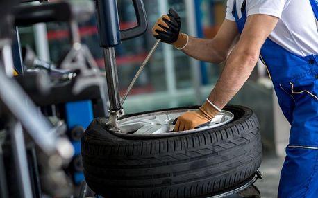 Profesionální přezutí pneu či výměna celých kol všech velikostí