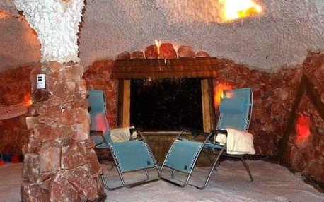 Léčivá solná jeskyně pro zdraví a imunitu