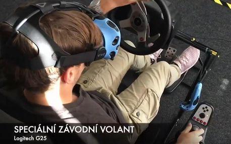 60 či 120 minut na závodním simulátoru až pro 4 osoby v Sokolově