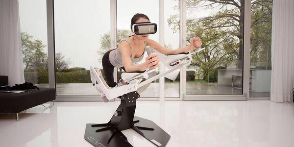 ICAROS-posilování ve virtuální realitě3