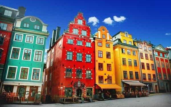 Švédsko - země barevných měst, lesů a vody