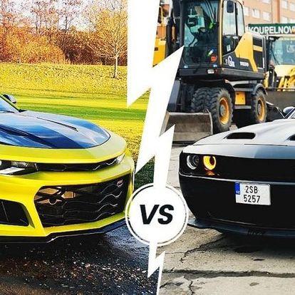 Souboj amerických legend mezi auty Dodge vs. Camaro