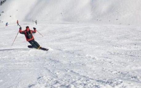 Kurz lyžování na monoski