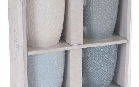Koopman Sada porcelánových hrnků 250 ml, 4 ks
