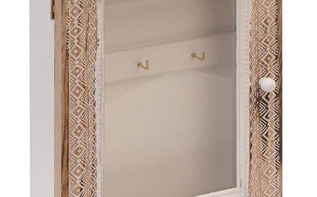 Home Styling Collection Skříňka na klíče - věšák na drobnosti