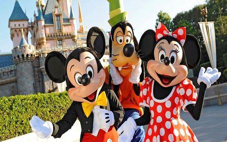 Disneyland Paříž včetně ohňostroje, Paříž
