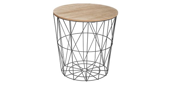 Atmosphera Créateur d'intérieur Kávový stolek s otevírací deskou, multifunkční nábytek v půvabném stylu