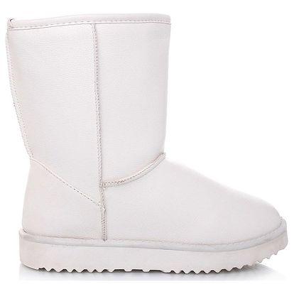 Timelook fashion Bílé válenky 207WH Velikost: 40 (24 cm)