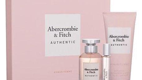Abercrombie & Fitch Authentic dárková kazeta pro ženy parfémovaná voda 100 ml + parfémovaná voda 15 ml + tělové mléko 200 ml