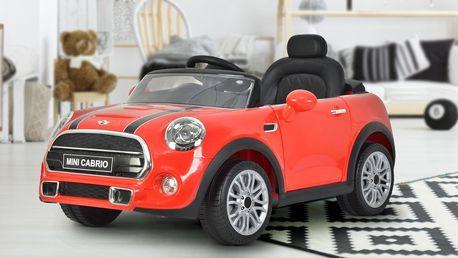 Dětský elektrický Mini Cooper vč. ovládání
