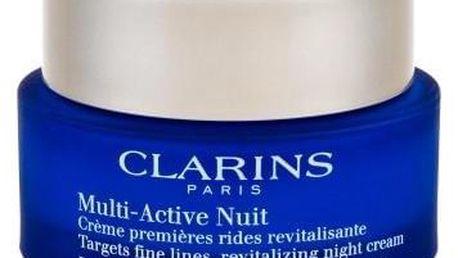 Clarins Multi-Active 50 ml noční krém proti vráskám pro normální až suchou pleť pro ženy