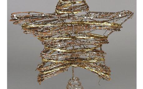 Vánoční hvězda Rayado, 20 x 25 cm