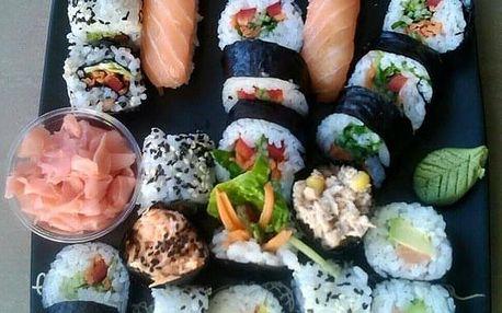 Zážitkový kurz přípravy sushi 28.3. v Pardubicích - nejběžnější druhy sushi