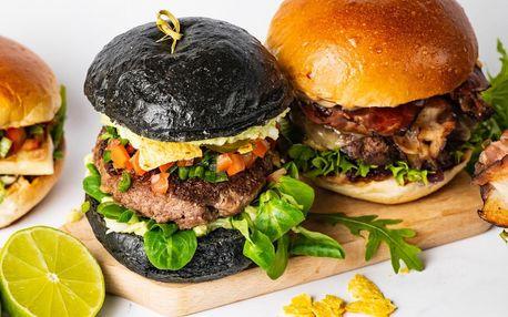 Burgerové menu s hranolky a limonádou pro 1 či 2