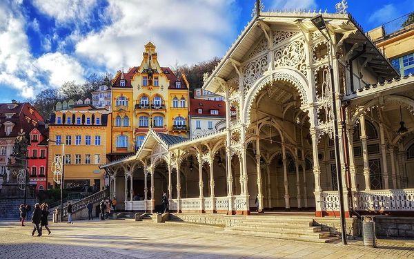 Karlovy Vary – wellness a relaxace v centru lázní vč. procedur - dlouhá platnost poukazu