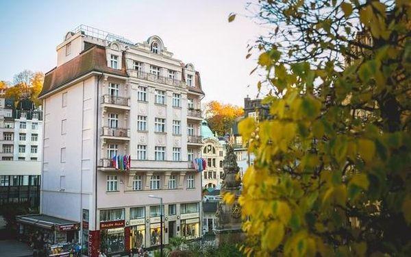 Karlovy Vary – wellness a relaxace v centru lázní vč. procedur 3 dny / 2 noci, 2 os., snídaně3