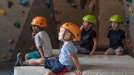 5 hodin lezení: kurz pro děti od 6 do 15 let