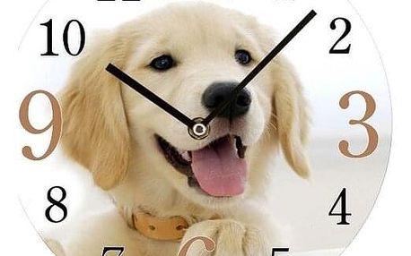 Lowell 14846 nástěnné hodiny