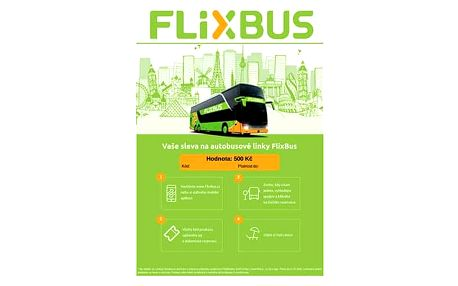 Dárkový poukaz FlixBus