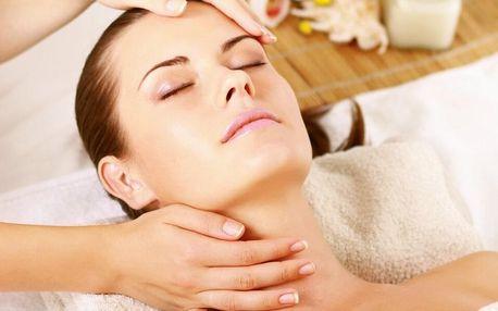 Hodinové kosmetické ošetření včetně peelingu