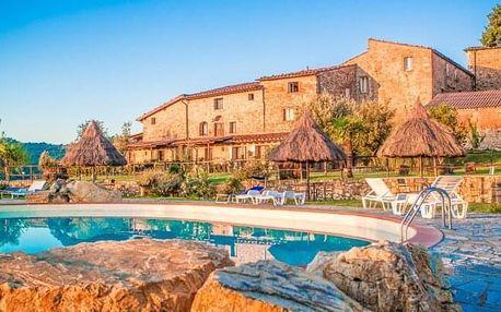Toskánsko: 4 - 7 dní ve vile Fattoria Il Santo s bazénem + ochutnávka specialit