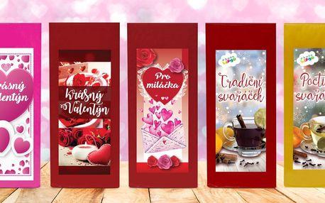 Valentýnské ovocné čaje a svařáčky