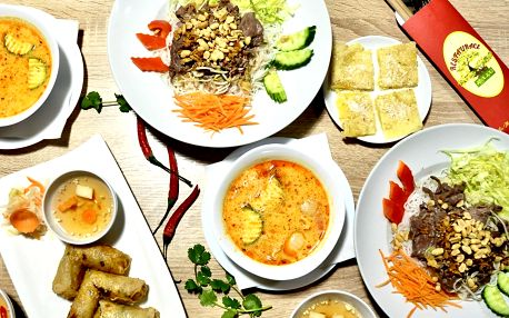 Vietnamské 3chodové menu s nejoblíbenějšími jídly