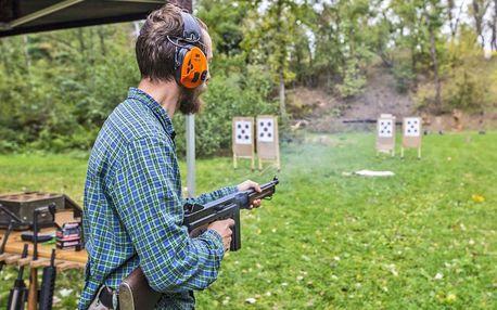 Střelecké balíčky: revolvery, krátké i dlouhé zbraně