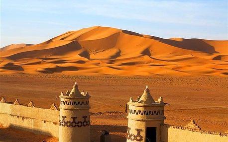 Maroko - Maroko - poznávací letecky na 10-11 dnů, snídaně v ceně