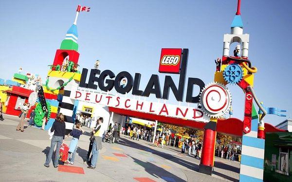 Legoland s neomezeným vstupem v ceně, autobusem