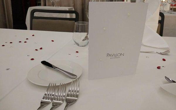 Degustační menu pro dvě osoby v restauraci Pavillon v Brně4