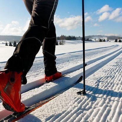 Zimní sportovně aktivní balíček na horách v Dubí