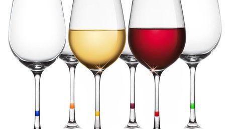 Tescoma UNO VINO Sklenice na víno 350 ml, 6 ks