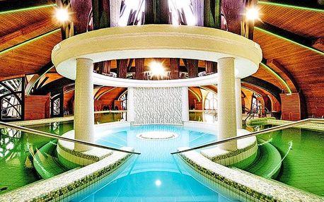 Zalakaros ve 4* hotelu Park Inn s polopenzí nebo dokonce all inclusive + neomezený vstup do termálů