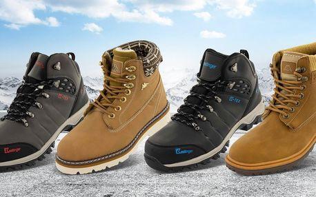 Zimní obuv Kappa a Kastinger pro ženy i muže