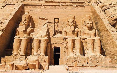 Egypt letecky na 8 dnů