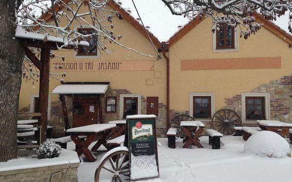 Zimní pobyt - večery strávené u vína a v sauně v Novém Šaldorfě-Sedlešovicích