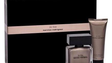 Narciso Rodriguez For Him dárková kazeta pro muže parfémovaná voda 50 ml + sprchový gel 75 ml