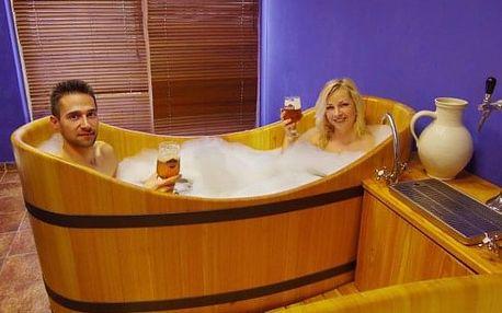 Wellness pobyt se snídaní, pivní koupelí a relaxačními proceduramii