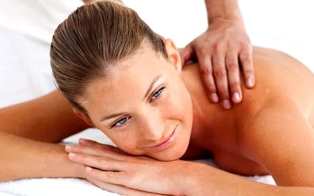 30–70minutová relaxační masáž pro uvolnění